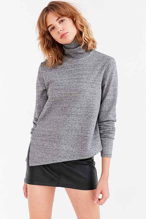 Cheap Monday Valid Turtleneck Sweater,GREY,M