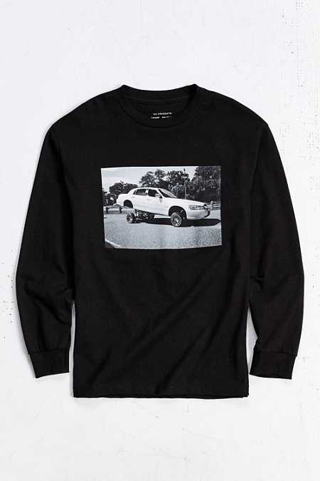UO Artist Editions Alexander Richter East Coast Lincoln Long-Sleeve Tee