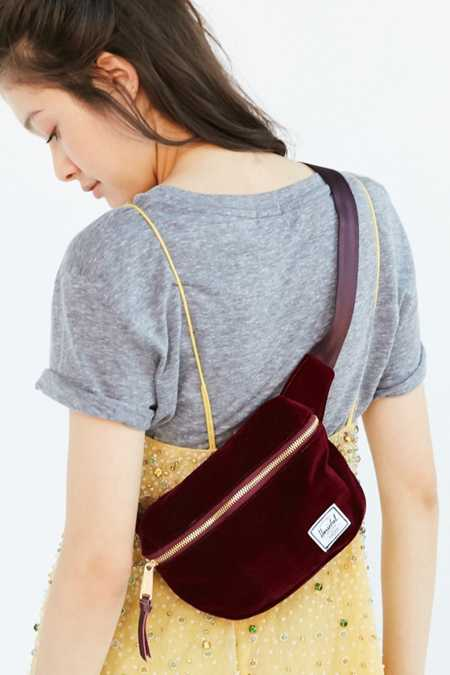 Herschel Supply Co. Fifteen Velvet Belt Bag