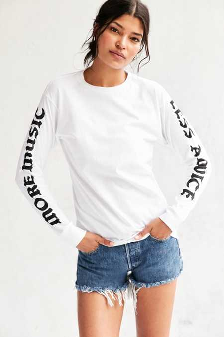 Script Long-Sleeve Tee