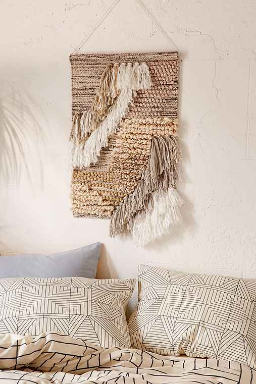 Rossa Woven Wall Hanging,IVORY,ONE SIZE