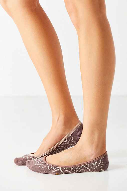 Pendleton Sunset Cross Liner Sock,TAUPE,ONE SIZE
