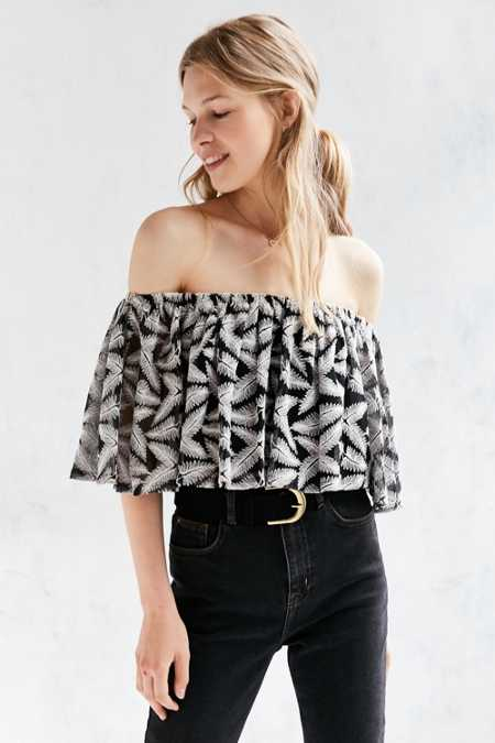 Kimchi Blue Madeline Off-The-Shoulder Top