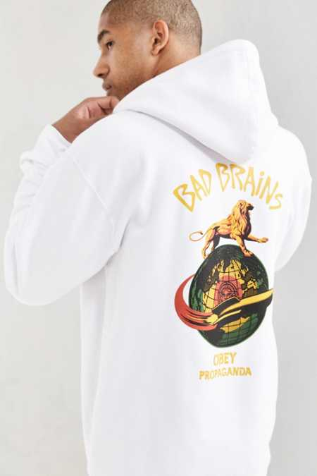 OBEY Bad Brains Hoodie Sweatshirt