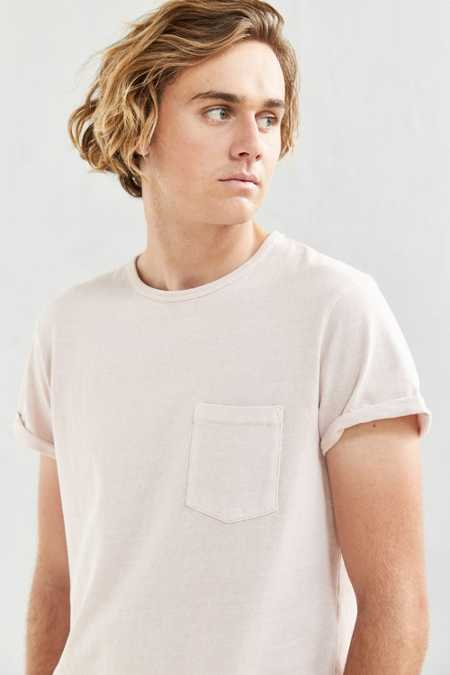 Feathers Heavy Roll-Sleeve Tee