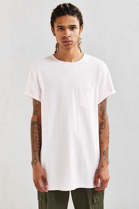 Feathers Heavy Roll Sleeve Tee
