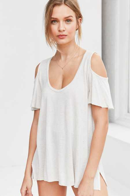 Project Social T Liza Cold Shoulder Tee