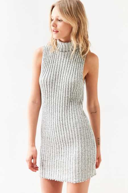 BDG Marly Turtleneck Sweater Mini Dress