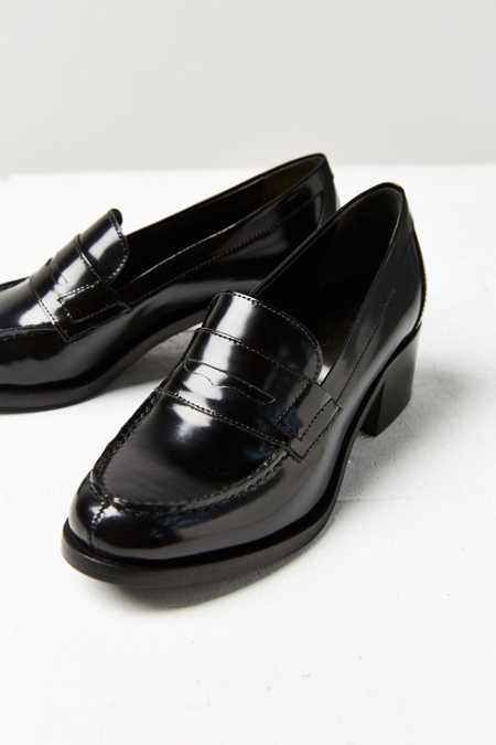 Bass Heeled Loafer