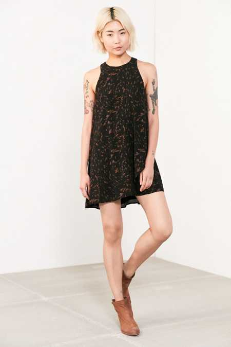 Silence + Noise Angel Tulip-Hem Swing Dress
