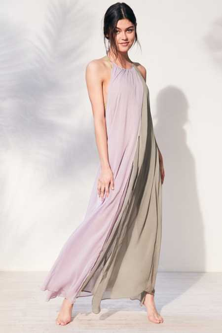 Out From Under High Neck Maxi Cover-Up