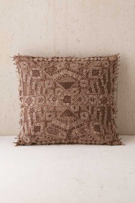 Aurora Embroidered Pillow