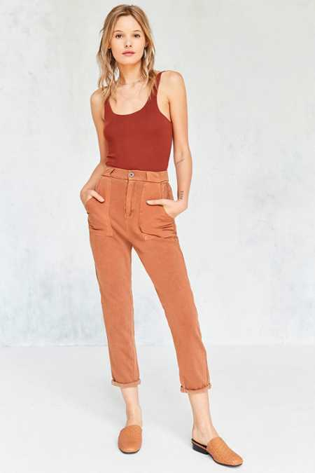BDG Wesley Mixed Fabric Cargo Pant