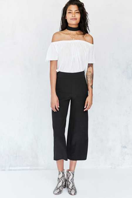 Ecote Lila Crop Pull-on Pant