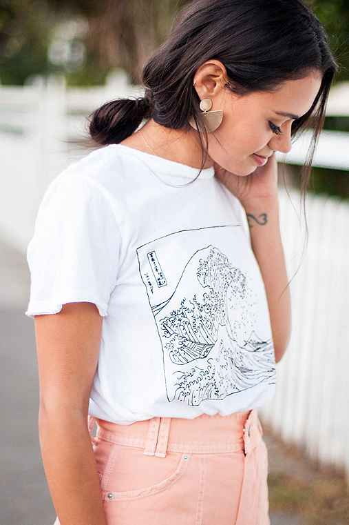 Future State Wave Tee,WHITE,L