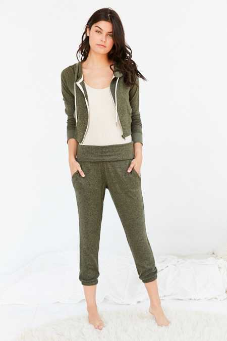 Out From Under Cozy Fleece Foldover Jogger Pant