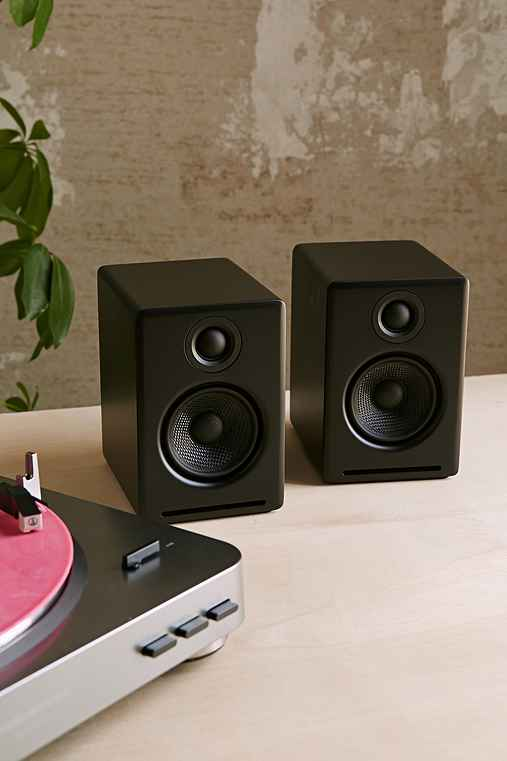 Audioengine A2+ Premium Powered Desktop Speakers,BLACK,ONE SIZE