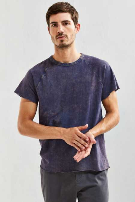 UO Raw Cut Washed Raglan Tee