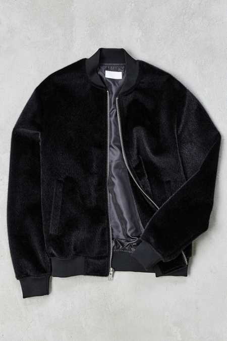 UO Camel Hair Bomber Jacket