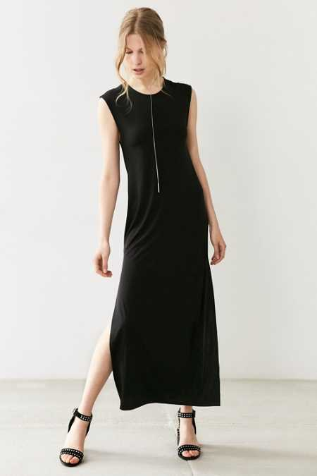 Silence + Noise Slit Muscle Maxi Dress