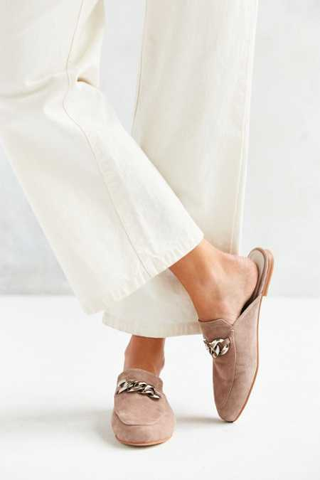 Jeffrey Campbell Suede Apfel Loafer