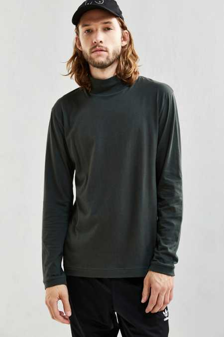 UO Basic Mock Neck Long-Sleeve Tee