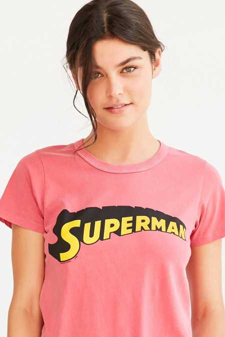 Junk Food Superhero Tee