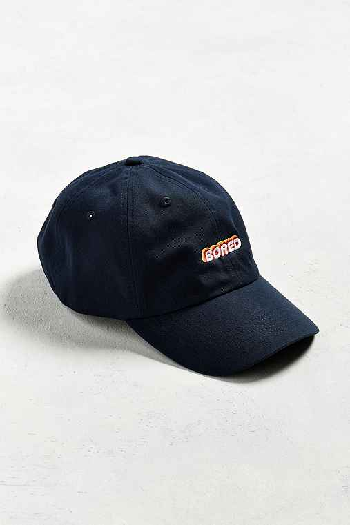 UO Bored Baseball Hat,NAVY,ONE SIZE