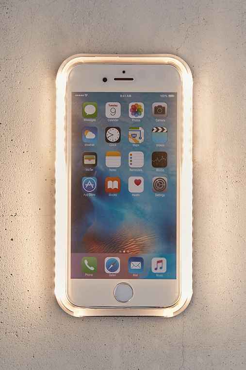 LuMee Perfect Selfie iPhone 6 Plus/6s Plus Case,BLACK,ONE SIZE