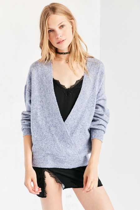 Silence + Noise Surplice Top