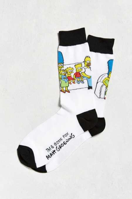 Simpsons Couch Sock