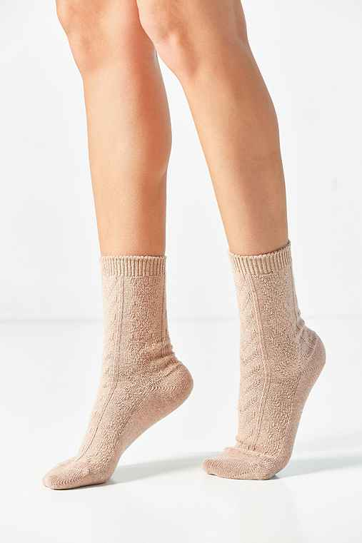 Out From Under Soft Cable Boot Sock,ROSE,ONE SIZE