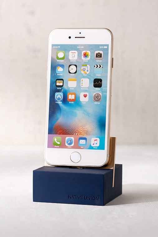 Native Union iPhone + iPad Stand,BLUE,ONE SIZE
