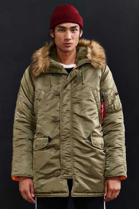 Alpha Industries Slim Fit N-3B Parka Jacket