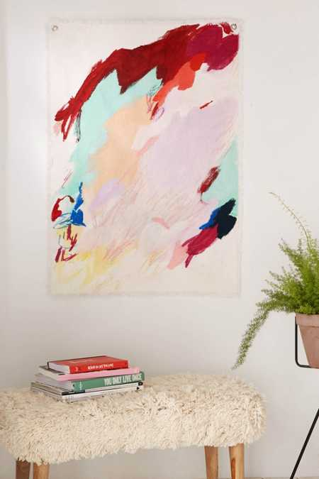 KT Smail Abstract Shapes Wall Hanging