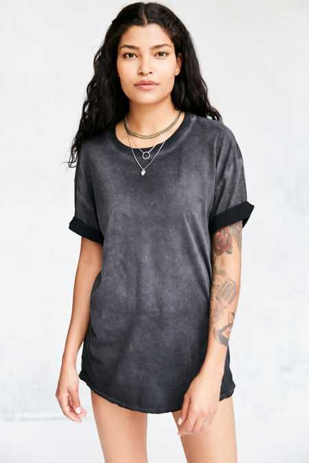 Pins And Needles Freedom Washed Tunic Tee