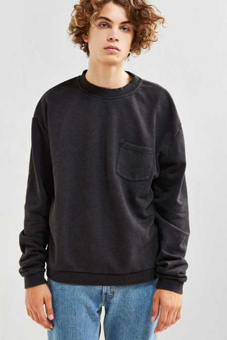 UO Garnett Pocket Crew Neck Sweatshirt