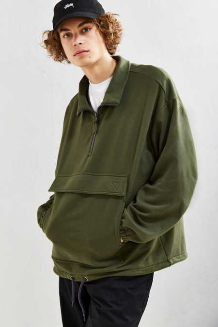 UO Erving Half-Zip Sweatshirt