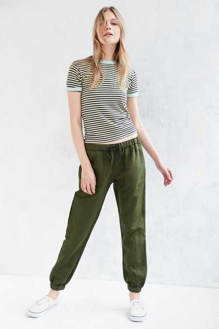 BDG Woven Pull-On Pant