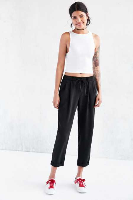 Light Before Dark Zip-Front Trouser