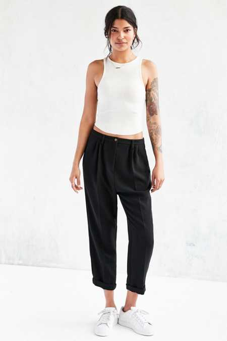 Silence + Noise Slouchy Tailored Trouser