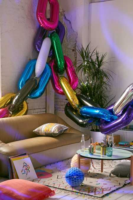 Chain Link Party Balloon