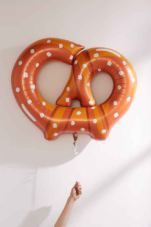 Pretzel Balloon,ORANGE,ONE SIZE