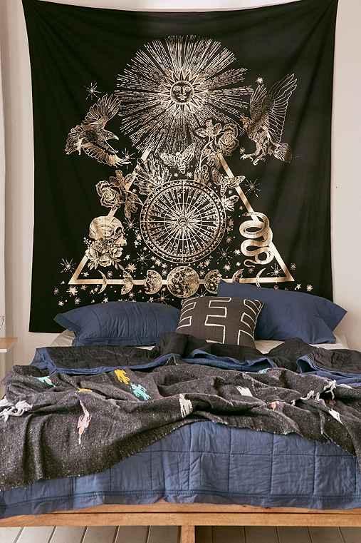Mind's Eye Tapestry,BLACK,ONE SIZE