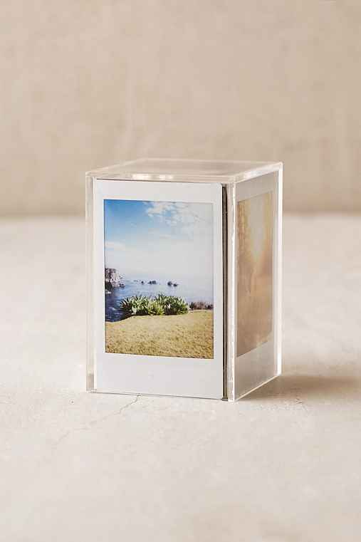 Instax Cube Frame,CLEAR,ONE SIZE