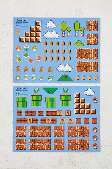 Super Mario Brothers Collectors Edition Magnets Set