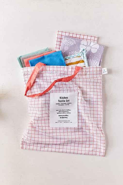 Essential Kitchen Textiles Set,MULTI,ONE SIZE