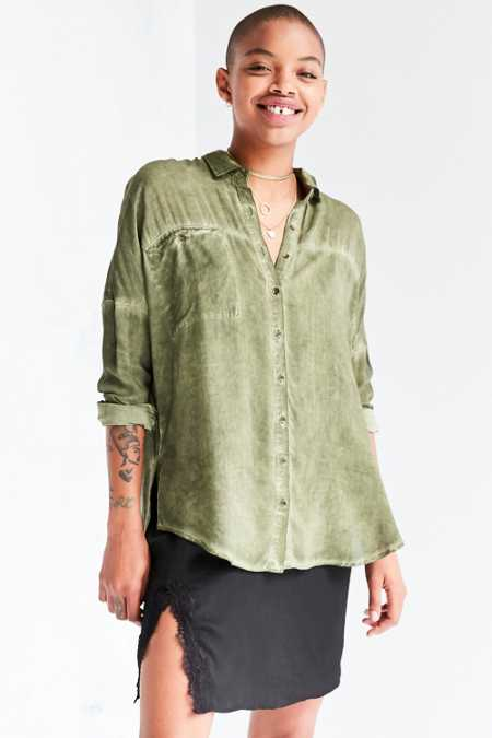 Silence + Noise Justine Dolman Button-Down Shirt