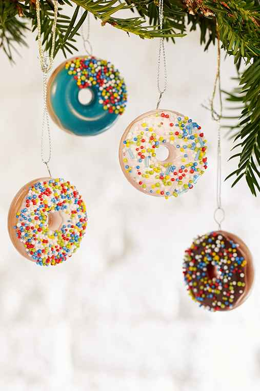 Donut Ornament Set,MULTI,ONE SIZE