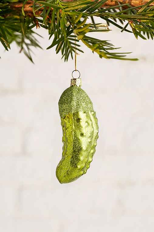 Holiday Pickle Ornament,GREEN,ONE SIZE